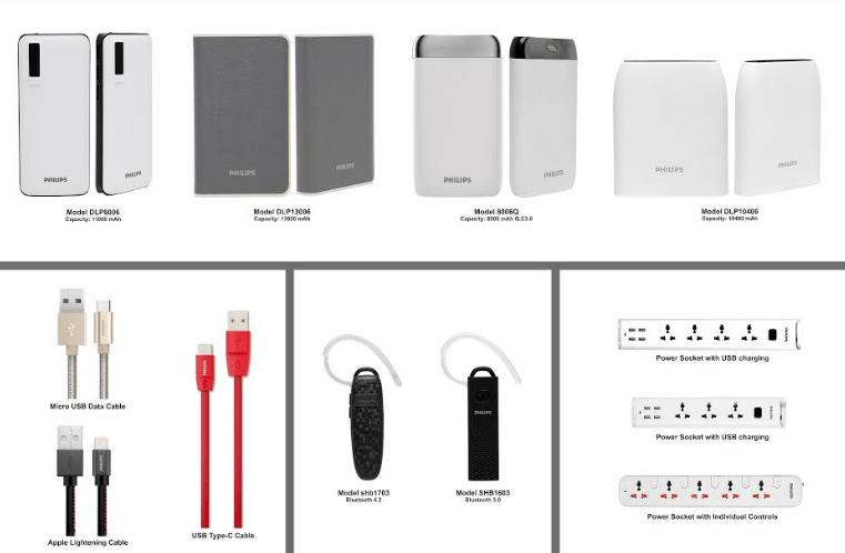 ATI Electronics Launches Philips Power Banks And Other Mobile Accessories in India