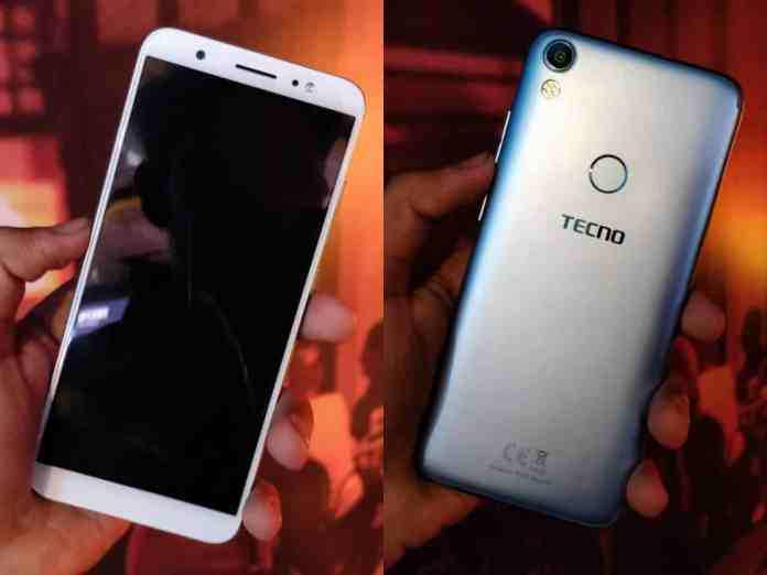 Tecno Camon I with 5.65-inch HD+ display launched in India at Rs 8,999