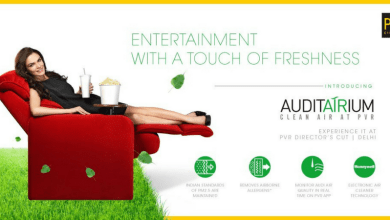 "PVR transforms its urban leisure spaces by bringing the luxury of purified air at its multiplexes   Launches ""AUDIT-AIR-IUM"" - country's FIRST clean-air cinemas using Green tech"