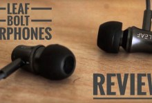 Leaf bolt wired earphones review, sound quality, design