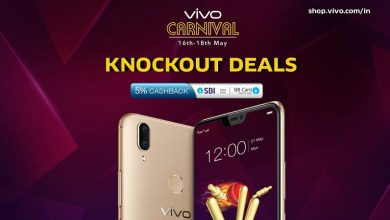 Vivo Announces its E-Store Carnival with discounts, cashbacks and other offers
