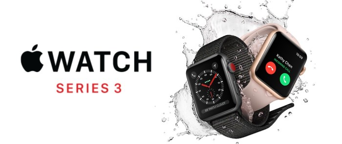 Best Smartwatch of 2018, apple iwatch series 3