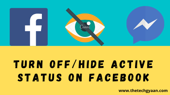 Turn Off / HIDE Active Status on Facebook