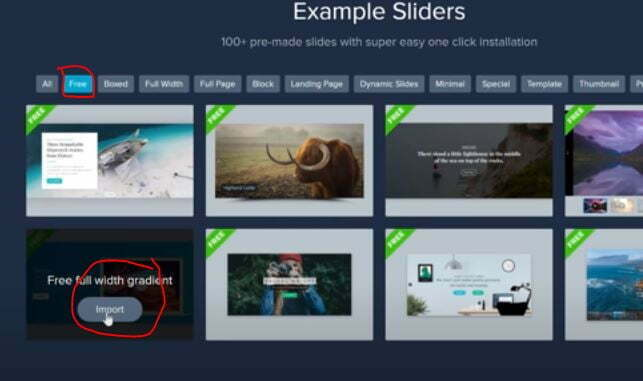 Create A Slider In WordPress