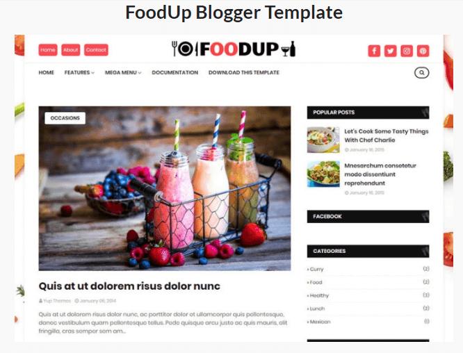 AMP Blogger Template