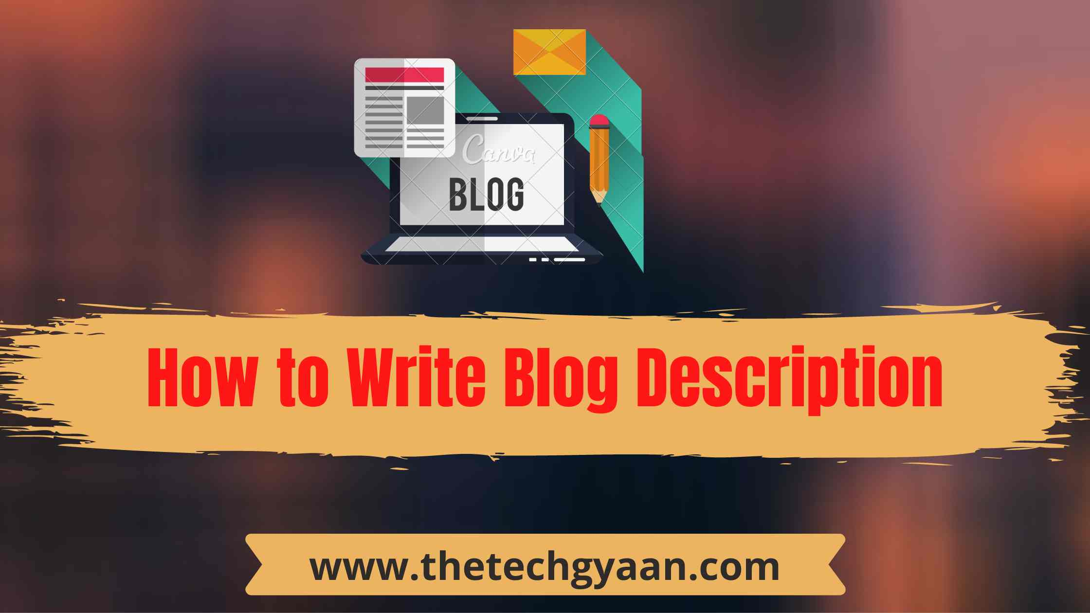 How to Write Blog Description