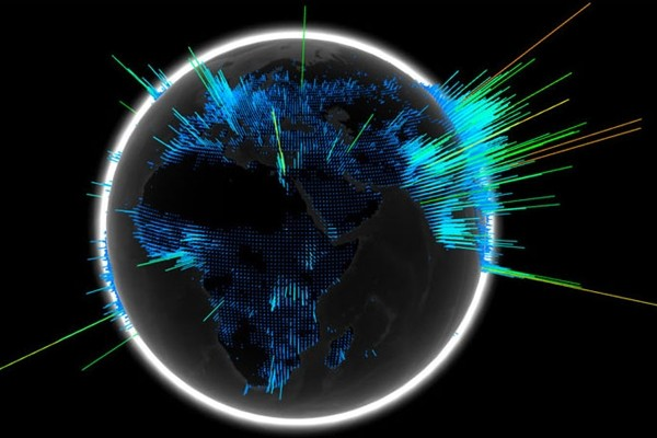 Africa Map 3d Wallpaper Google Offers Daily Visuals Of Searches Across The Globe