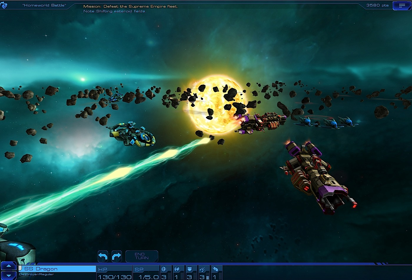 Sid Meier's Starships screenshot.