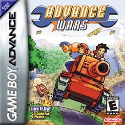 Best GBA Games Advance Wars