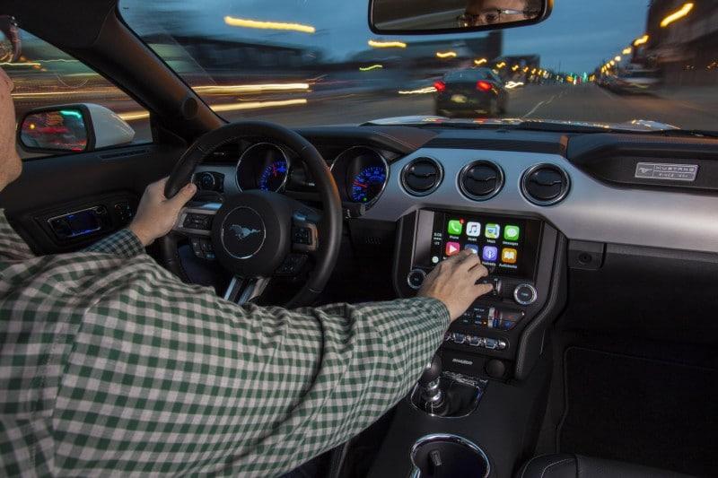 Apple CarPlay on SYNC.