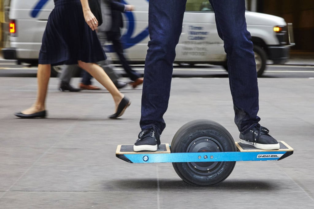 The Onewheel by US-based Future Motion, which