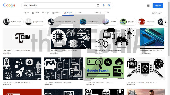 Site Search - Google Images