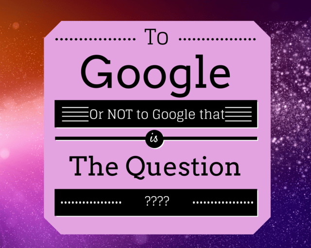 Googleable or not?