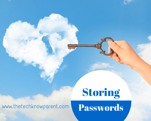 Storing Passwords safely