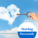 Storing those passwords…