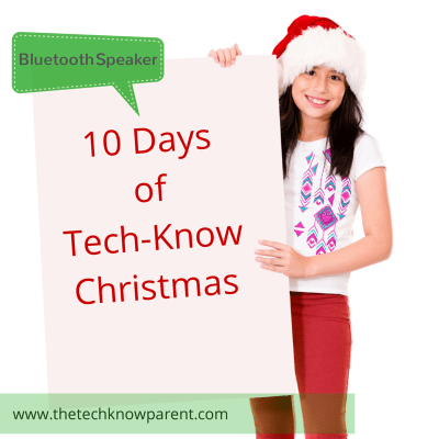 bluetooth speaker 10 days of tech-know christmas