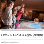 5 ways to be a helper on a class excursion – with tech and without!
