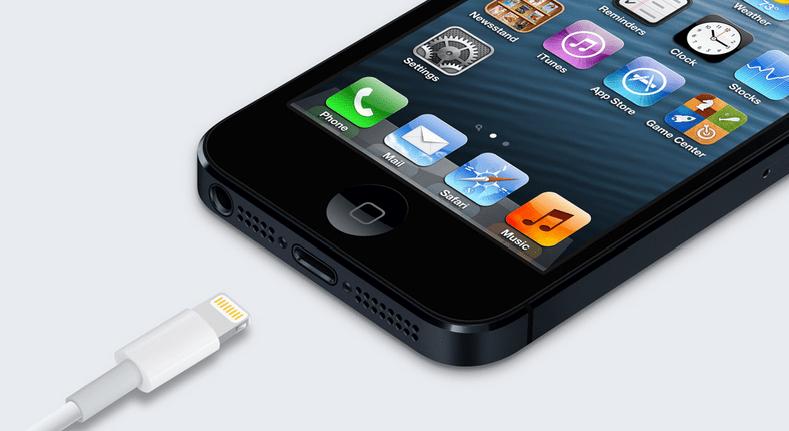 Noul iPhone 5 Trăsnet conector