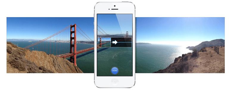 iPhone 5 Panoramic mod Captură