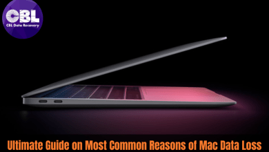 Ultimate Guide on Most Common Reasons of Mac Data Loss