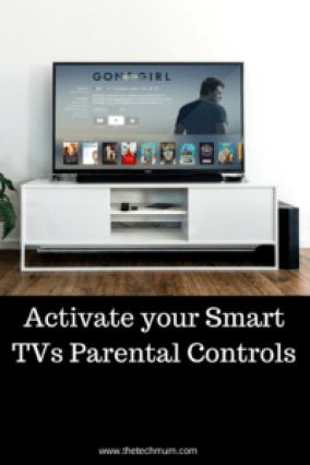 Activate Your Smart TVs Parental Controls - The Tech Mum