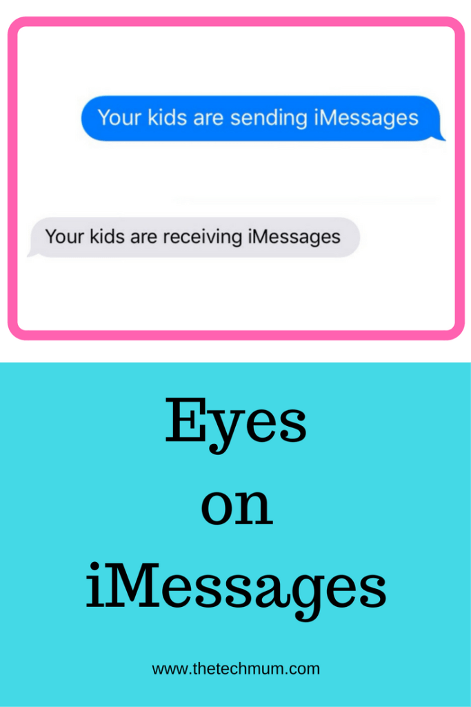Eyes on iMessages