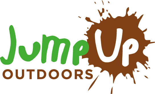 Jump up outdoors