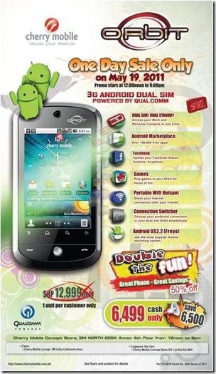 Cherry Mobile Orbit Sale