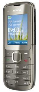 Nokia C2-00_grey