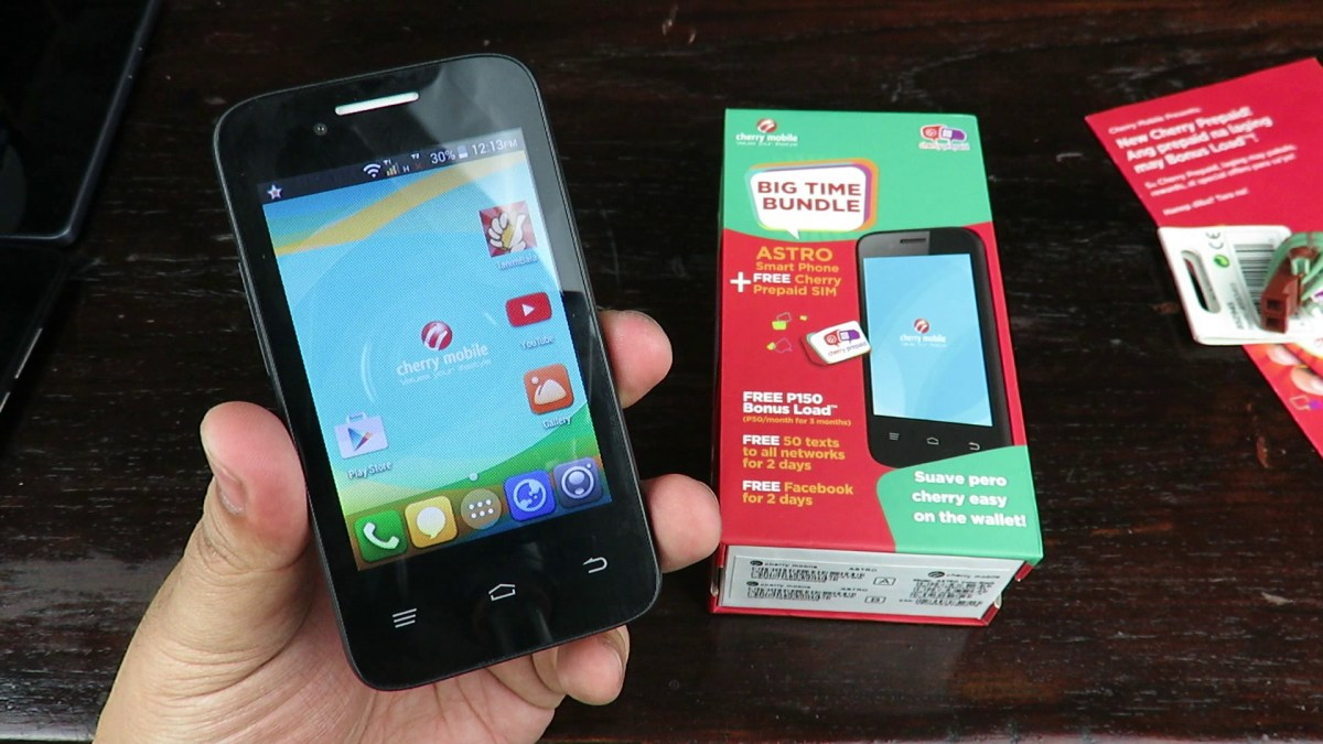 Cherry Mobile Astro Review - Smartphone With Free Cherry Prepaid SIM For PHP 999