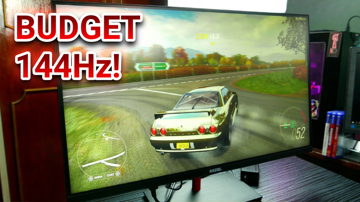 "The Best 27"" 144Hz 1080p Monitor For The Price"