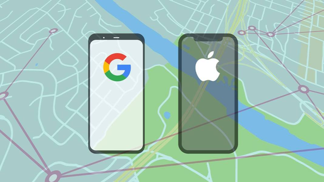 Google apple contact tracing