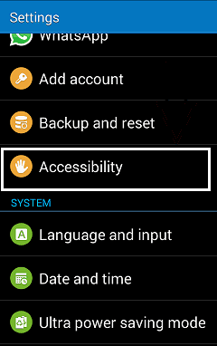 Flashlight notification app for