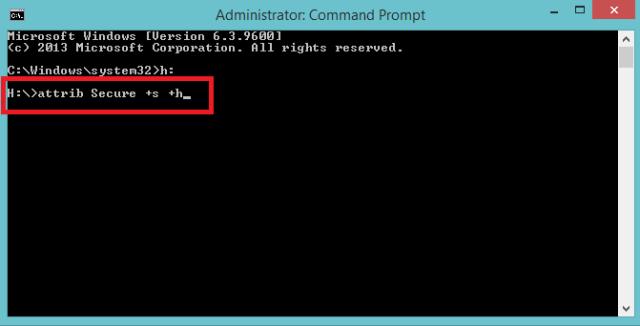 Use attrib Cmd