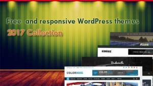 WordPress template free responsive