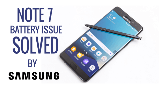note 7 fire issue solved thetechtoys