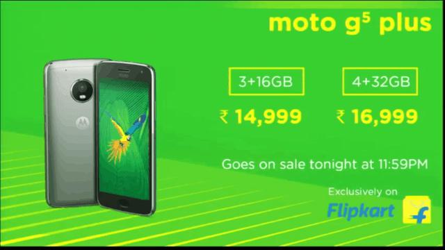 moto g5 plus price india the tech toys dot com