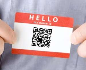 qr code for visiting cards the tech toys
