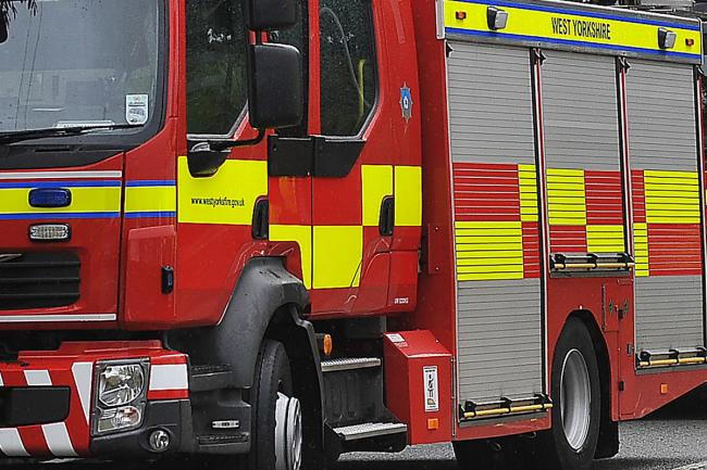 Firefighters were called to Glenwood Avenue, Baildon