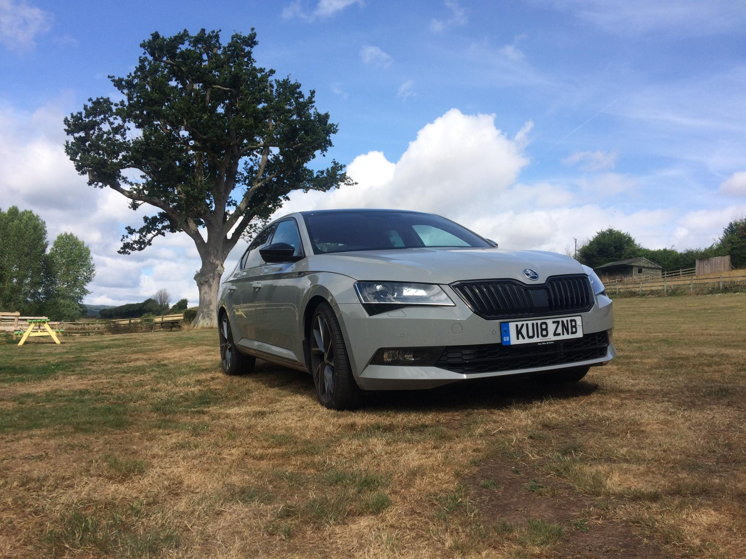 hight resolution of car review skoda superb sportline tsi 4x4