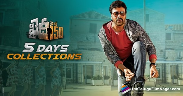 Khaidi No 150 Movie 5 Days Collections