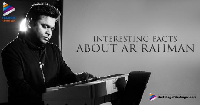 AR Rahman Latest Updates