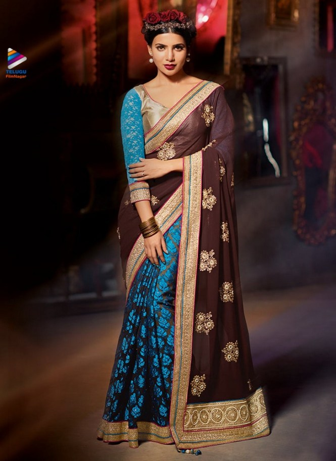 Image result for Samantha latest saree images