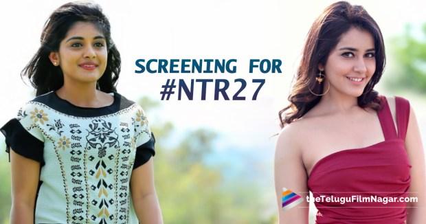 Nivetha, Raashi for Jr NTR