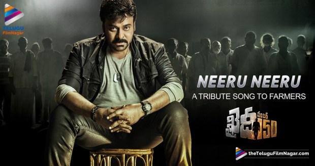 Khaidi No 150 Neeru-Neeru-song,Khaidi No 150 Neeru Neeru Song, Neeru Neeru Song,