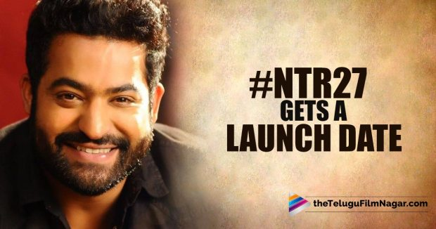 #NTR27 Launch Date Confirmed