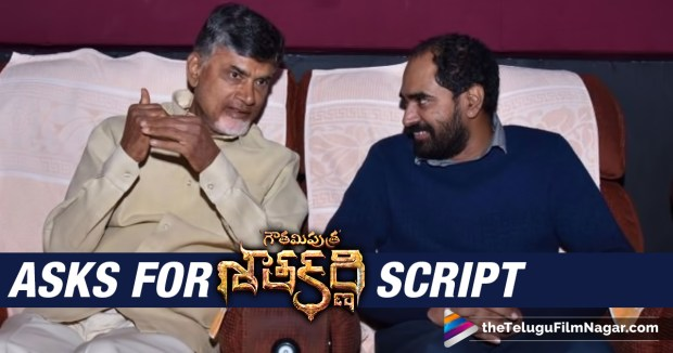 Chandrababu Asks Krish for Satakarni Script