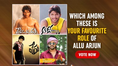 Which among these is your favourite role of Allu Arjun?