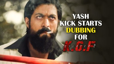 Yash Kick starts Dubbing For K.G.F Chapter 2 Today