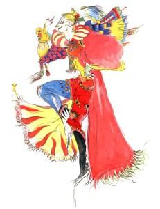 Original Kefka Character Design